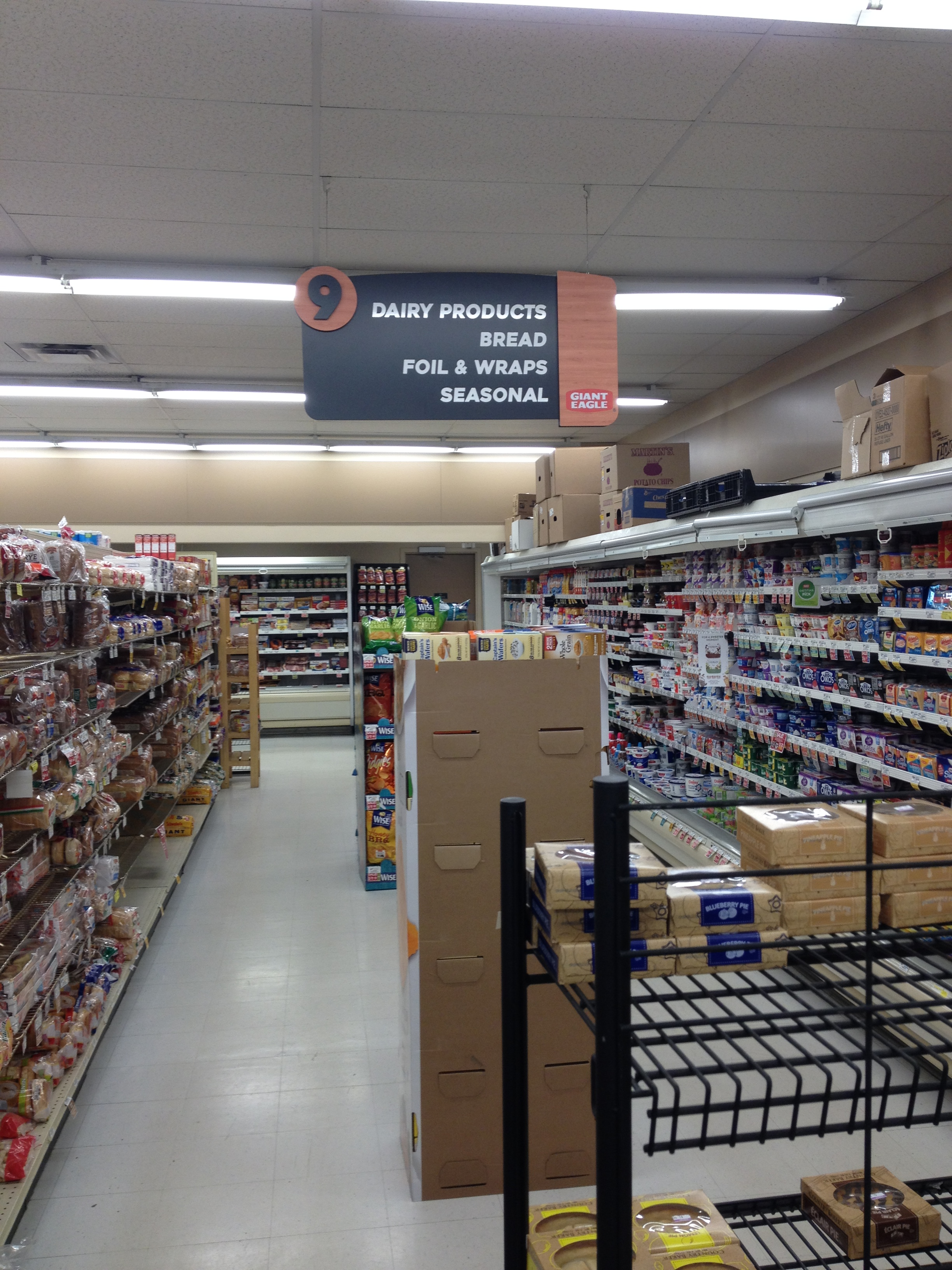 Interior Grocery Signs - The Sign Artist